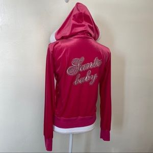 Victorias Secret Sexy Little Hoodie Santa Baby